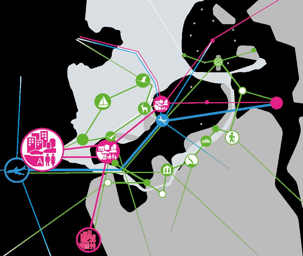 Omgevingsvisie FlevolandStraks beeld: NETWERKAART