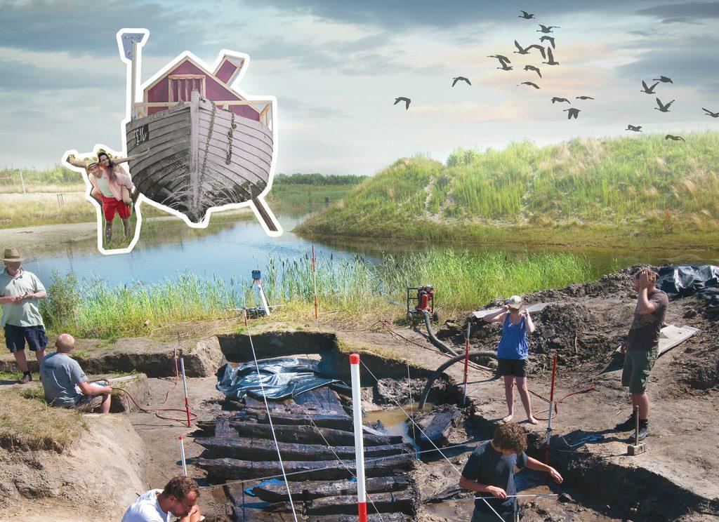 Omgevingsvisie FlevolandStraks beeld: Camping NETL