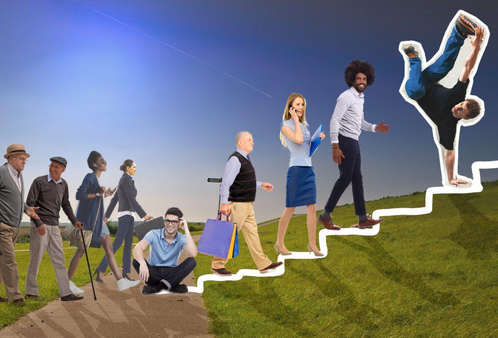 Omgevingsvisie FlevolandStraks beeld: Dijk fietspad