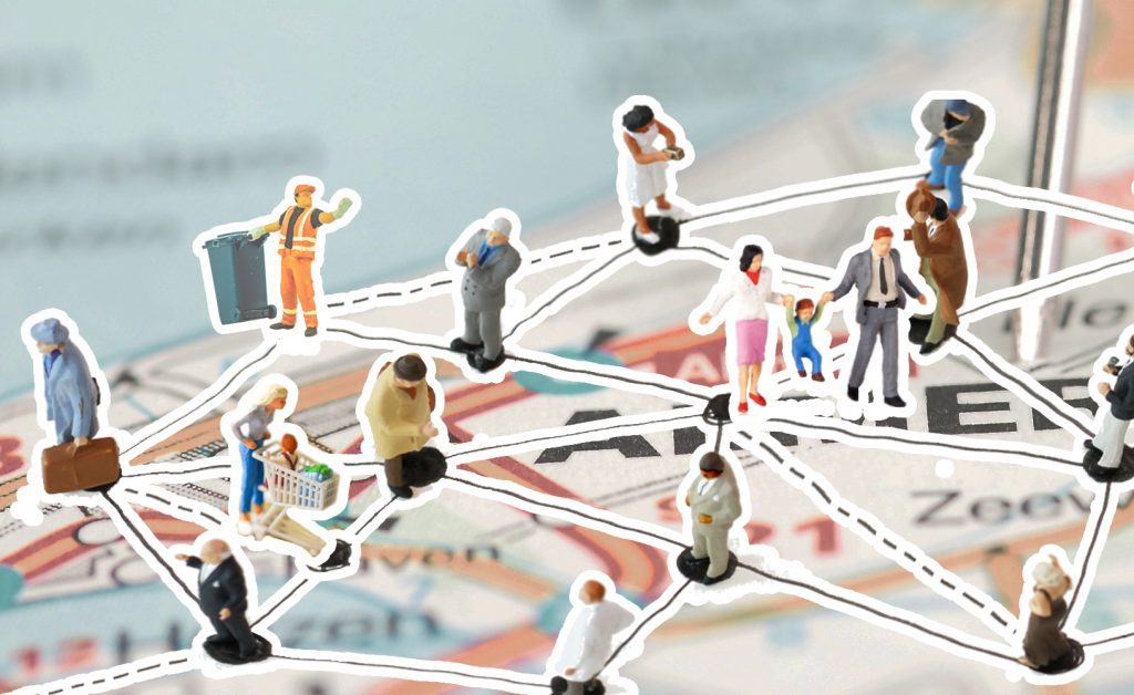 Omgevingsvisie FlevolandStraks beeld: netwerk