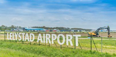 Lelystad Airport is knooppunt voor Flevoland en omgeving