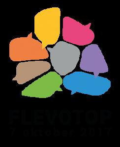 Omgevingsvisie FlevolandStraks beeld: Logo Flevotop