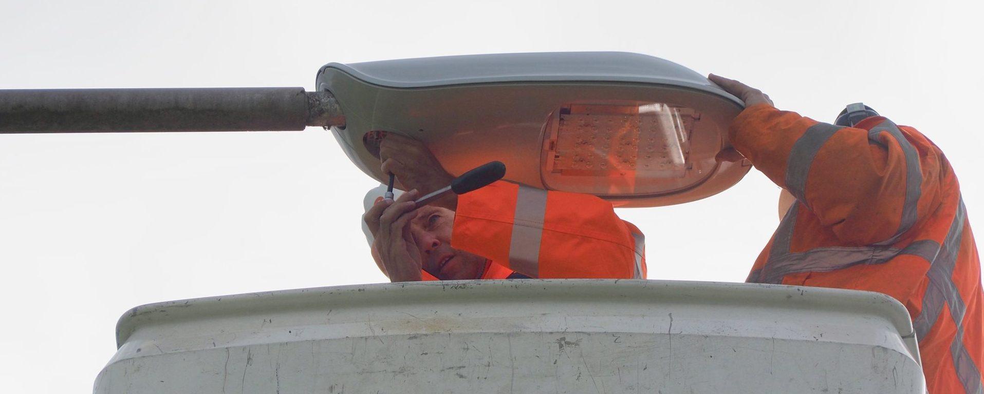 Provincie Flevoland plaatst duurzame verlichting langs provinciale wegen