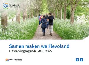 Omgevingsvisie FlevolandStraks beeld: voorblad UAII