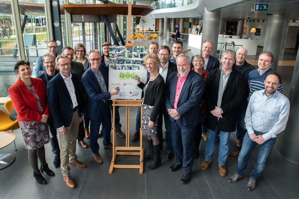 Omgevingsvisie FlevolandStraks beeld: FEA – Woningcorporaties