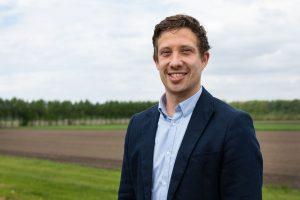 foto van Nick Vermeer, voorzitter Flevolands Agrarisch Jongeren Kontakt
