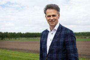 foto van Rob Donker, voorzitter Agrofoodcluster