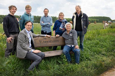 Nieuwe natuur Vliervelden bij Stadsboerderij Almere