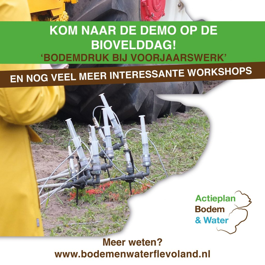 Flyer voor Biovelddag